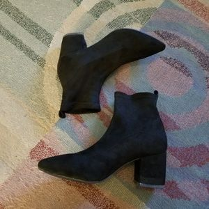 Forever 21 black booties!